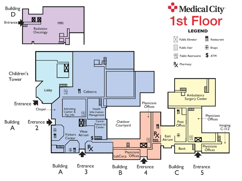 Partnering for Patient Convenience on medical city ortigas map philippines, baylor medical dallas map, pine creek medical center map, ut southwestern medical center dallas map, garrison tower ou medical map, dallas texas city map, adventist medical center map, christ hosptial campus map, dallas va medical center map,