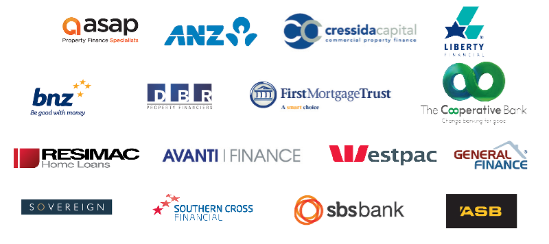 New Zealand's widest range of lenders you know and trust...